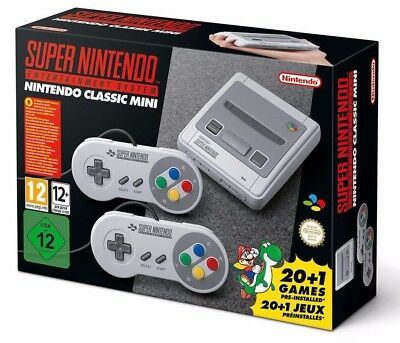 Mini Snes - Super Nintend O Entertainment System Mini Nuovo Sigillato