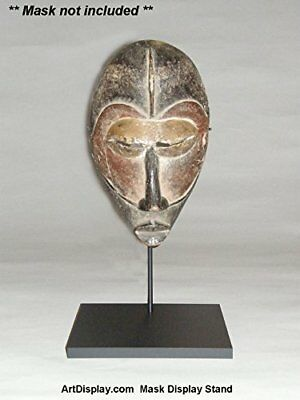 African Tribal Mask Artifact Display Stand, Holder, TA-127B (mask not included)