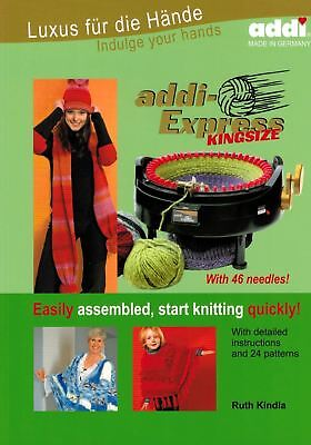 Turbo-Knitting with addi-Express Kingsize - addi Pattern Book