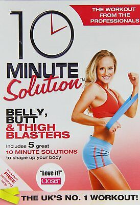 10 Minute Solution - Belly, Butt And Thigh Blasters [DVD] [2009] New Sealed