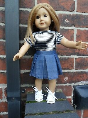 """2 piece set fits 18"""" our generation american girl size doll"""