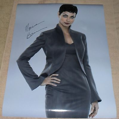 Morena Baccarin Signed V Poster Autograph Firefly Serenity Auto Nathan Fillion
