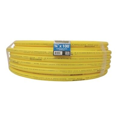 Gas Pipe Underground Yellow 3/4 in x 100 ft Yellow Polyethylene