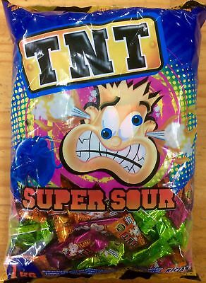 NEW TNT Sour Drops - 1kg Party Supplies Occasion Birthday Christmas