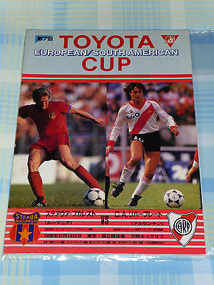 Steaua Bucharest v River Plate 1986 FIFA Toyota Club World Cup Program