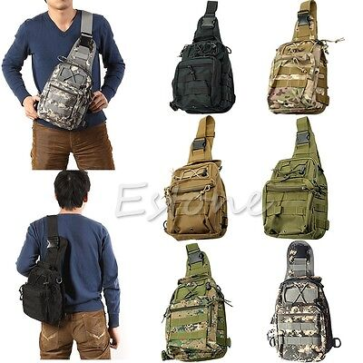 Outdoor Shoulder Military Tactical Backpack  Travel Hiking Trekking Camping Bag