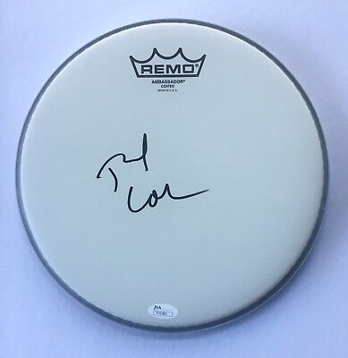 Tre Cool *Green Day* Signed Drumhead JSA COA