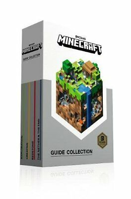 Minecraft Guide 4 book set Collection: Paperback Slipcase Edition from Mojang