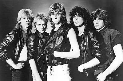 Def Leppard Early Days Lineup Poster High And Dry