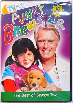 Punky Brewster: The Best of Season Two (DVD, 2011) NEW 10 Episode Set