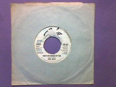 """Eddy Grant - Can't Get Enough Of You (7"""" single) juke box ENY 207"""
