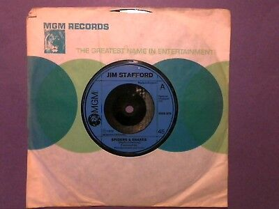 "Jim Stafford - Spiders & Snakes (7"" single) 2006 374"
