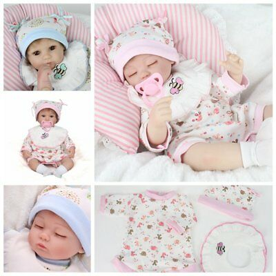 Realistic Lifelike Doll Newborn Real Baby Girl Boy Vinyl Silicone Reborn / Play
