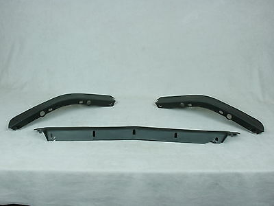 New 1985-1990 Corvette C4 Front Spoiler / Air Dam Kit - 3 Piece - Factory Syle
