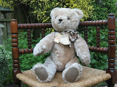 Hermann Country Mohair Bear 1918 Replica 1990 Ltd 893 of 3000 22 inches