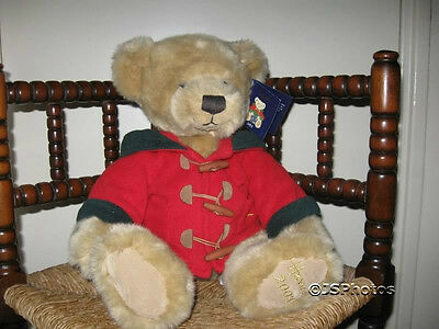 Harrods Large Dated Christmas Bear 2003 13 Inch with All Tags