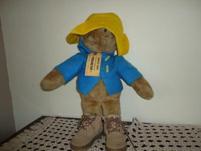 Paddington Bear Vintage Eden Toys 1975 Large 19 inch