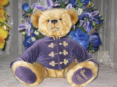 Harrods UK Footdated LARGE Christmas Bear Year 2000