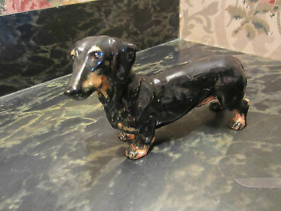 Wonderful Vintage Royal Doullton Dachshund Figure