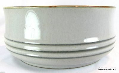 "Denby China Fjord Round Vegetable Serving Bowl 7"" England"