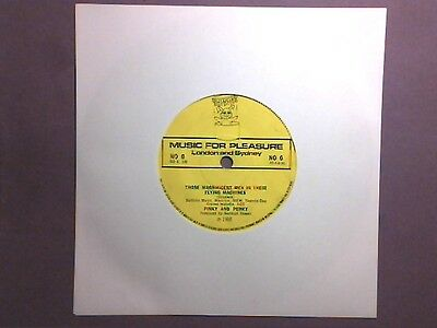 """Pinky & Perky - Those Magnificent Men In Their Flying.../Yellow Submarine (7"""")"""