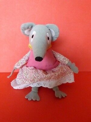 "Bagpuss Lizzie Mouse 7"" Soft Toy"