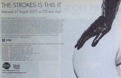 THE STROKES 2001 Advert IS THIS IT
