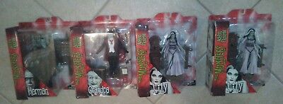 Munsters LOT of 4 Figures Herman Lily Grandpa & =THIS IS A MUST READ= (Eddie 40)