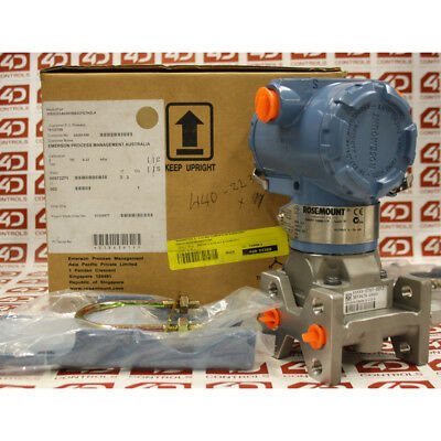 Rosemount 3051CD3A06B1BB3DFE7H4 Differential Pressure Transmitter –2.48 to 2....