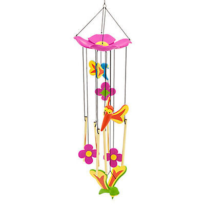 New Disney Store Alice In Wonderland Bread And Butterfly Wind Chimes
