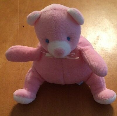 Eden Pink Bear Rattle 5""