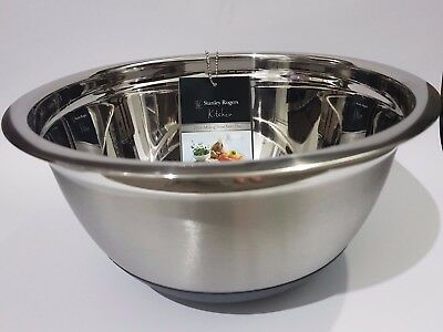 Stanley Rogers 27cm Stainless Steel Mixing Bowl With Non-Slip Base