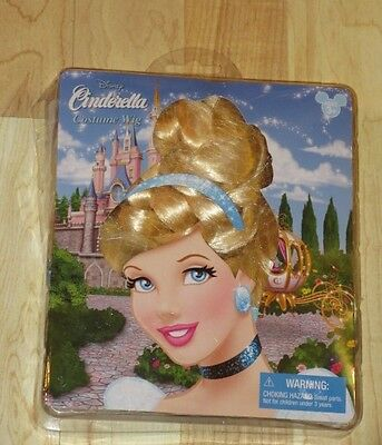 New Girls Ages 3+ Disney Parks Cinderella Costume Wig