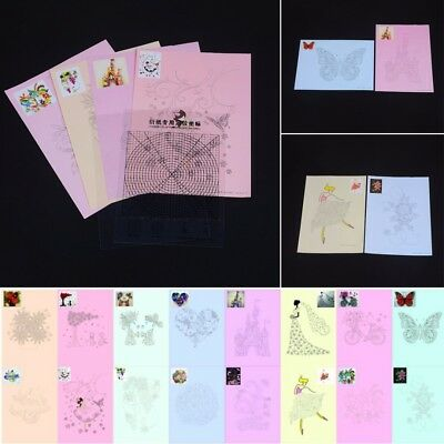 18Pcs/Set DIY Release Drawing Locating Paper Quilling Craft Collection Tool