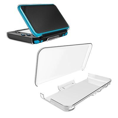 New Nintendo 2DS XL 2017 Crystal Clear Hard Case Shell Skin Cover WP