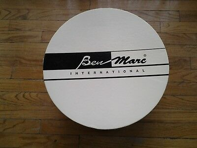 Womens's 3PC Ben Marc International Hat box with shiny exterior