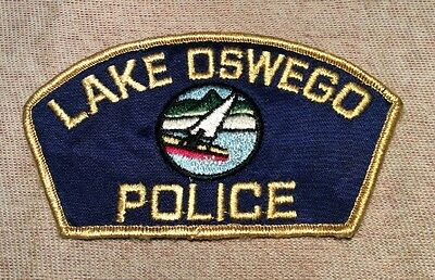 OR Lake Oswego Oregon Police Patch
