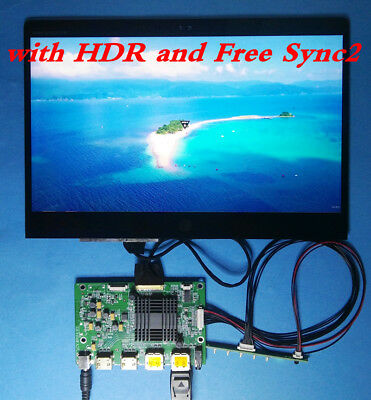 "HDMI DP Board + 12.5"" 3840x2160 UHD 4K LQ125D1JW33 LQ125D1JW34 gloosy surface"