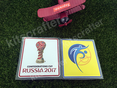 Confederation Cup 2017 Russia Soccer Sleeve Patch 2-Piece Set Germany