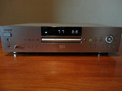 Sony Lettore SACD-DVD Player - DVP-NS900V QS - Silver - Remote Sony RMT-D139P
