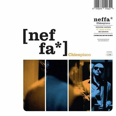 Neffa - Chicopisco Ep - Lp Vinyl New Sealed 2015 Numbered Copy # 1790/2000