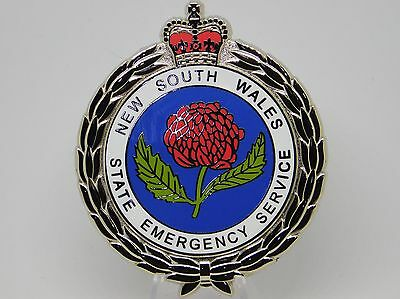 New South Wales State Emergency Service Plaque Badge