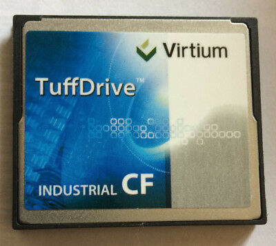 TuffDrive® CF Industrial Grade Compact Flash 8Go Read 44Mb/s Write 30Mb/s
