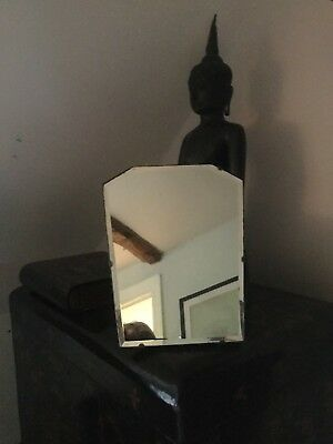 Original Art Deco Table Top/Dressing Table Mirror