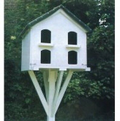 Plan (Only) To Build Wooden Dove Cote With Hinged Panels For Easy Cleaning
