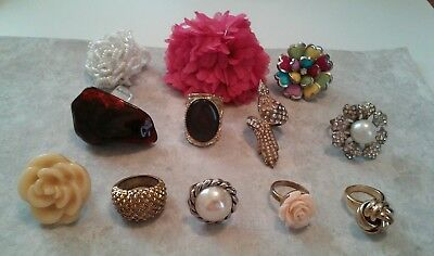 Vintage Unique Rings Lot of twelve