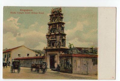 Singapore Connaught Road & Hindu Temple (2)