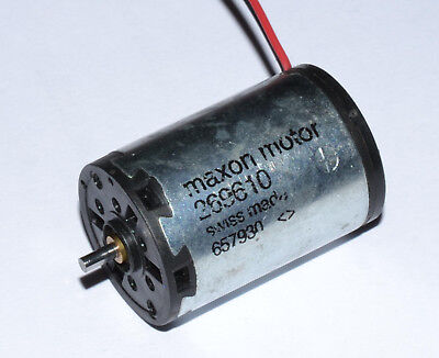 Maxon A-max 22 DC motor for rotary tattoo guns