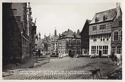 Place des Guildes Exposition Internationale 1930 ANVERS Belgique Carte Photo