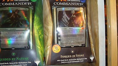 FORGED IN STONE 2014 Commander New MTG Magic Deck Fast Shipping Canada!